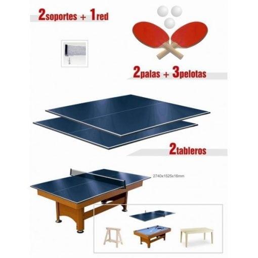 convertir billar a ping pong