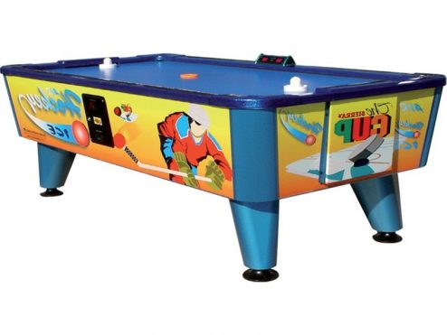 air hockey con monedero