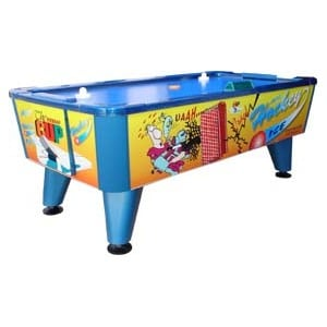 mesa de aire monedas monedero air hockey