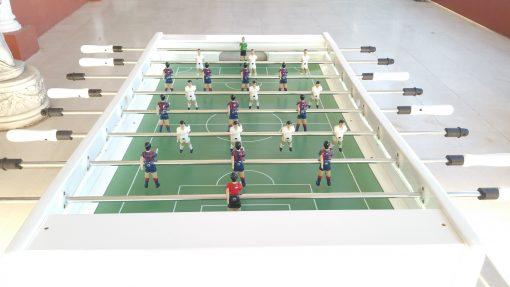 Futbolin profesional en color BLANCO www.futbolinesalicante.es