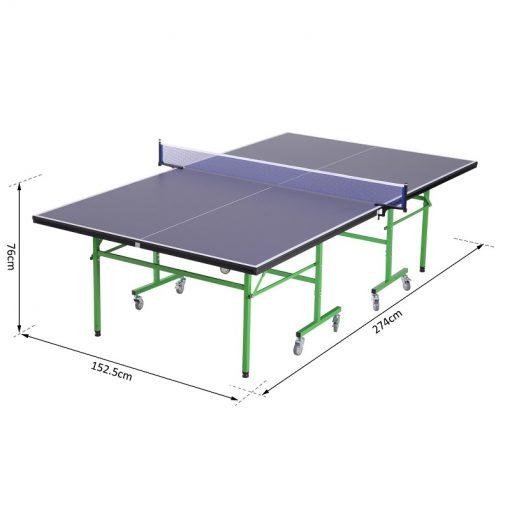mesa de ping pong con ruedas