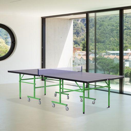 mesa de ping pong ruedas