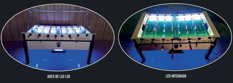 luces para futbolin