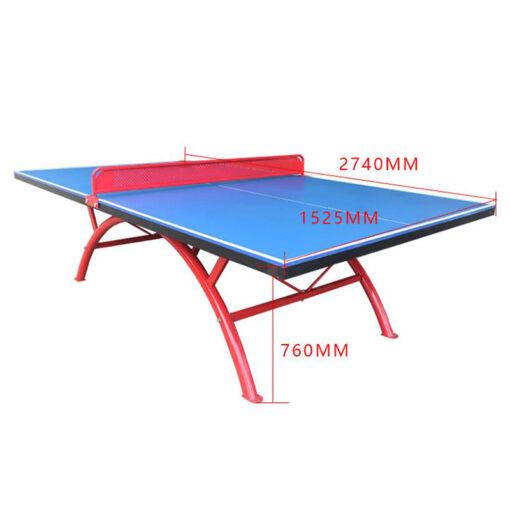 mesa de ping pong ataca